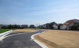 八代市松江の建築条件付き分譲地