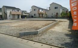 桧家住宅の久留米市江戸屋敷の分譲地